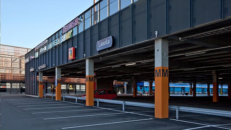 Karisman Pysakointirakennus Lahti Parma Consolis
