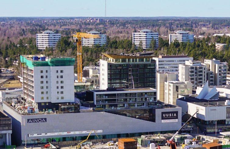 Kaupungistuminen nojaa kiviainespohjaiseen rakentamiseen