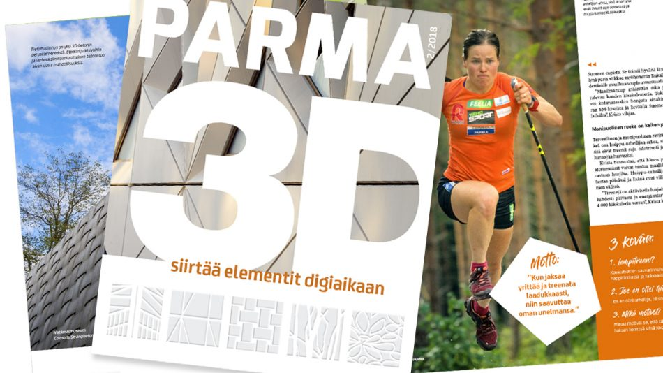 PARMAinfo extra: PARMA-lehti 2/2018 julkaistu – Lue nyt verkossa!