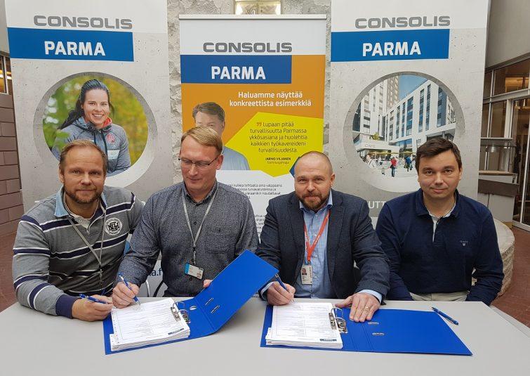 Parma ja Konecranes laajamittaiseen nostolaitteiden kunnossapitoyhteistyöhön