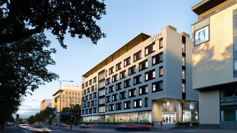 Suomen ensimmäinen SSA Hotelli nousee Parman betonielementeillä