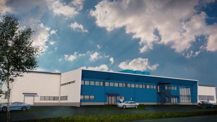 Consolis Rajaville toimittaa Oulun keskuspesulan betonielementit