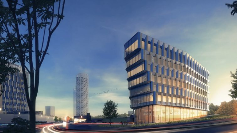 Fiskars Groupin uuden pääkonttorin betonielementit Consolis Parmalta