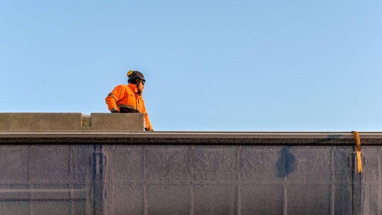 Consolis Parman betonielementtien kuljettajille kirjalliset luvat taakan purkua varten