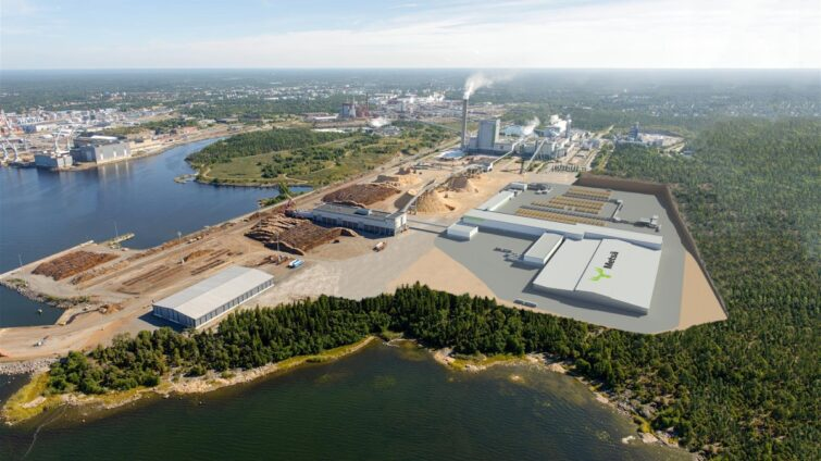 Maailman moderneimpaan sahaan Consolis Parman betonielementit