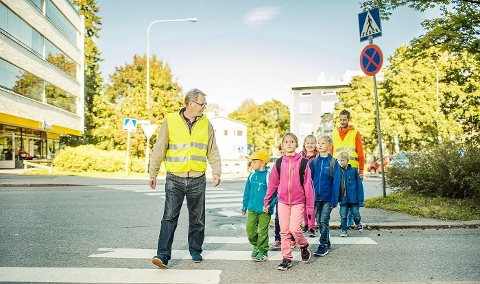 Koulut alkavat – turvallisesti liikenteessä!