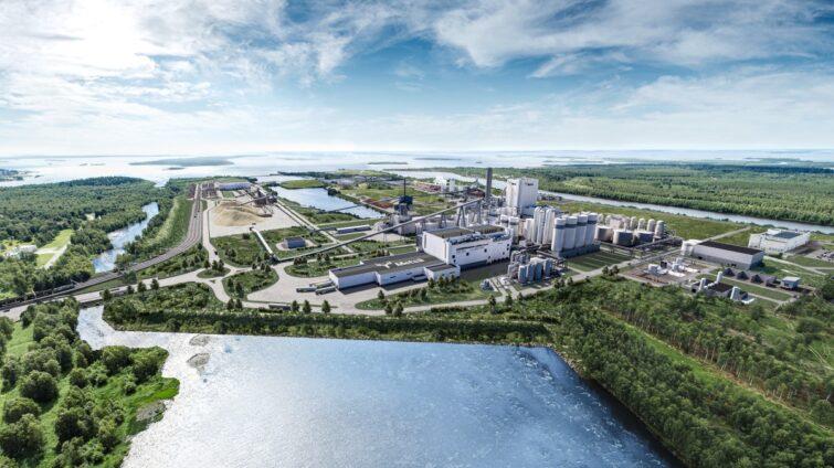 Metsä Groupin Kemin biotuotetehtaaseen jättitoimitukset Consolis Parmalta